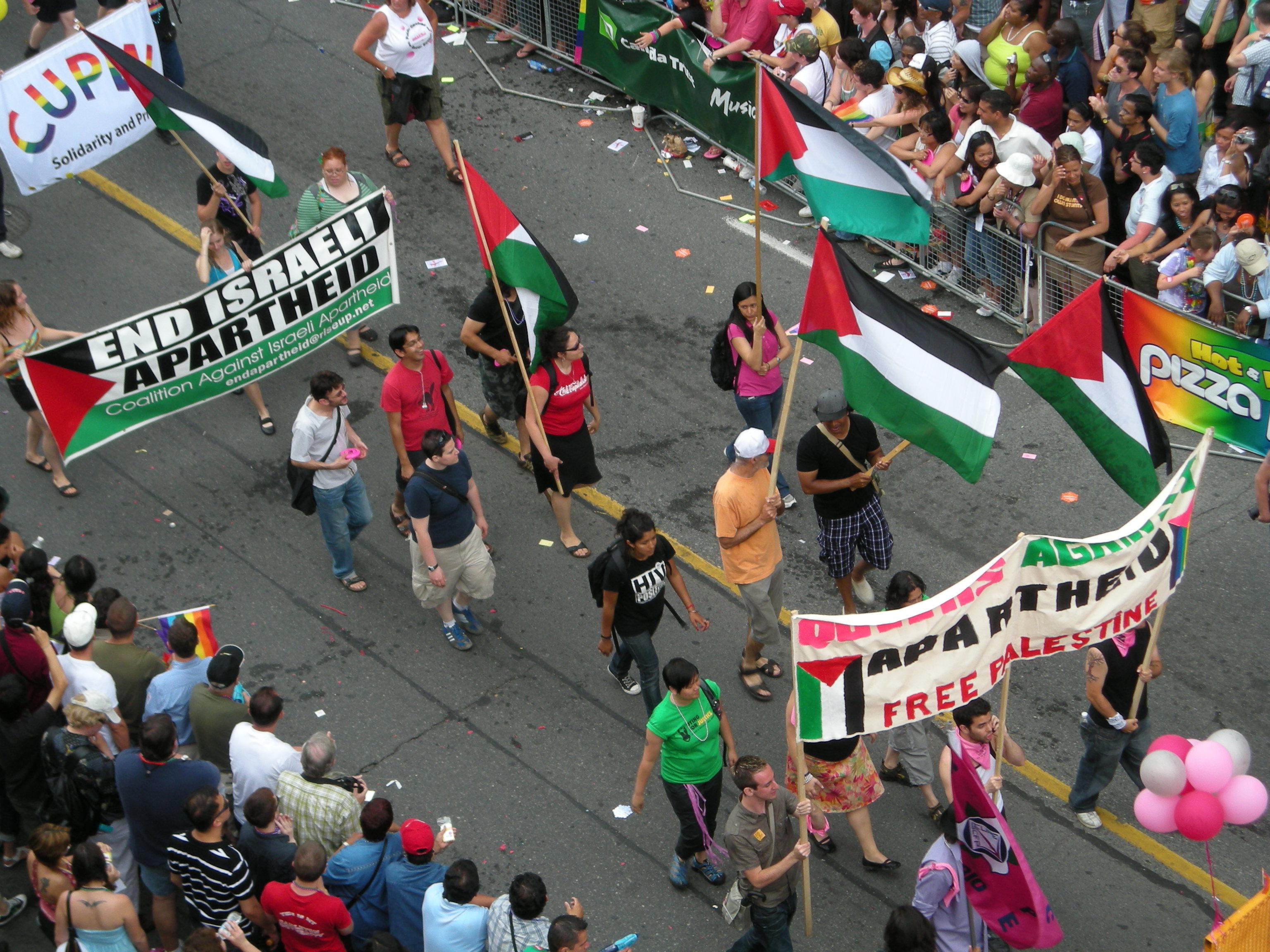 Israele pinkwashing gay