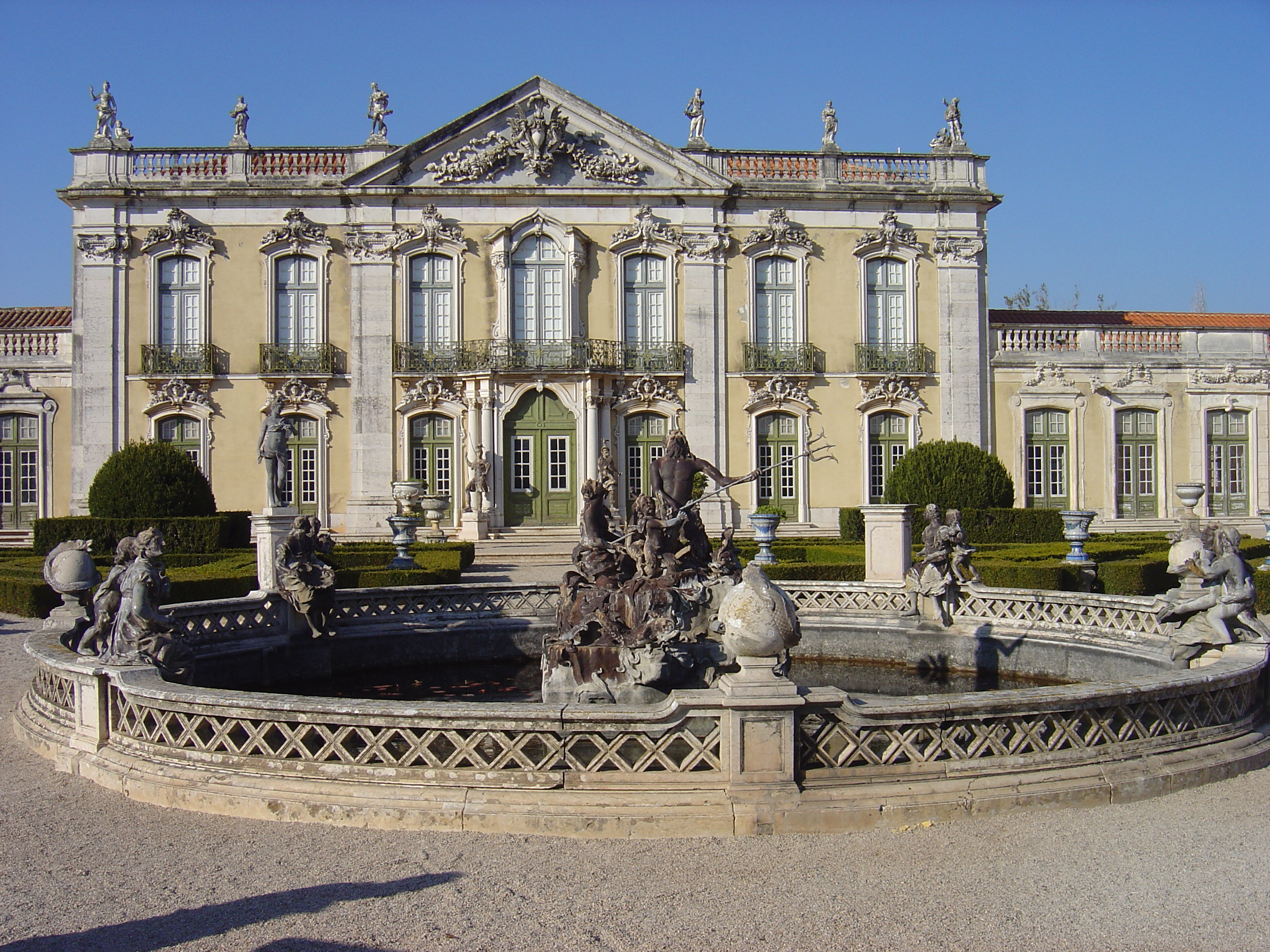 Queluz Portugal  city photos gallery : Rococo Architecture