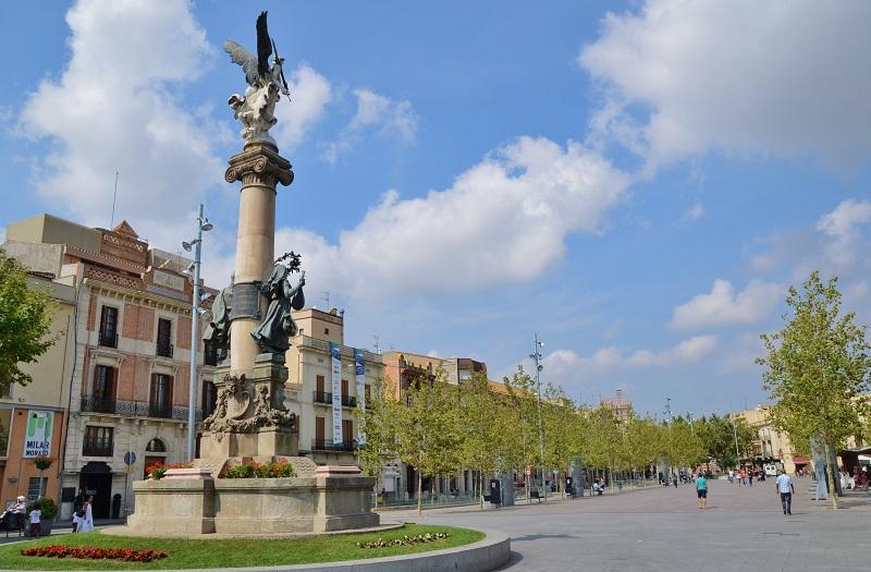 Rambla de Sant Francesc (Vilafranca del Penedès) - Viquipèdia,  l'enciclopèdia lliure