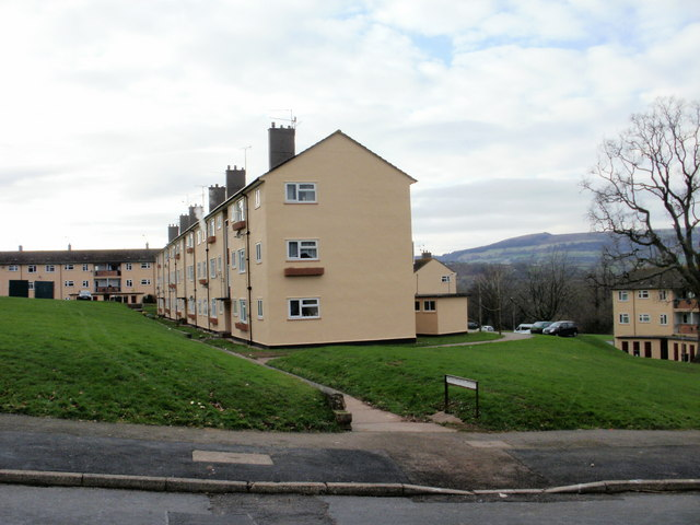 Recently renovated Trevithick Close, Malpas - geograph.org.uk - 1625736.jpg English: Recently renovated Trevithick Close, Malpas. Compare