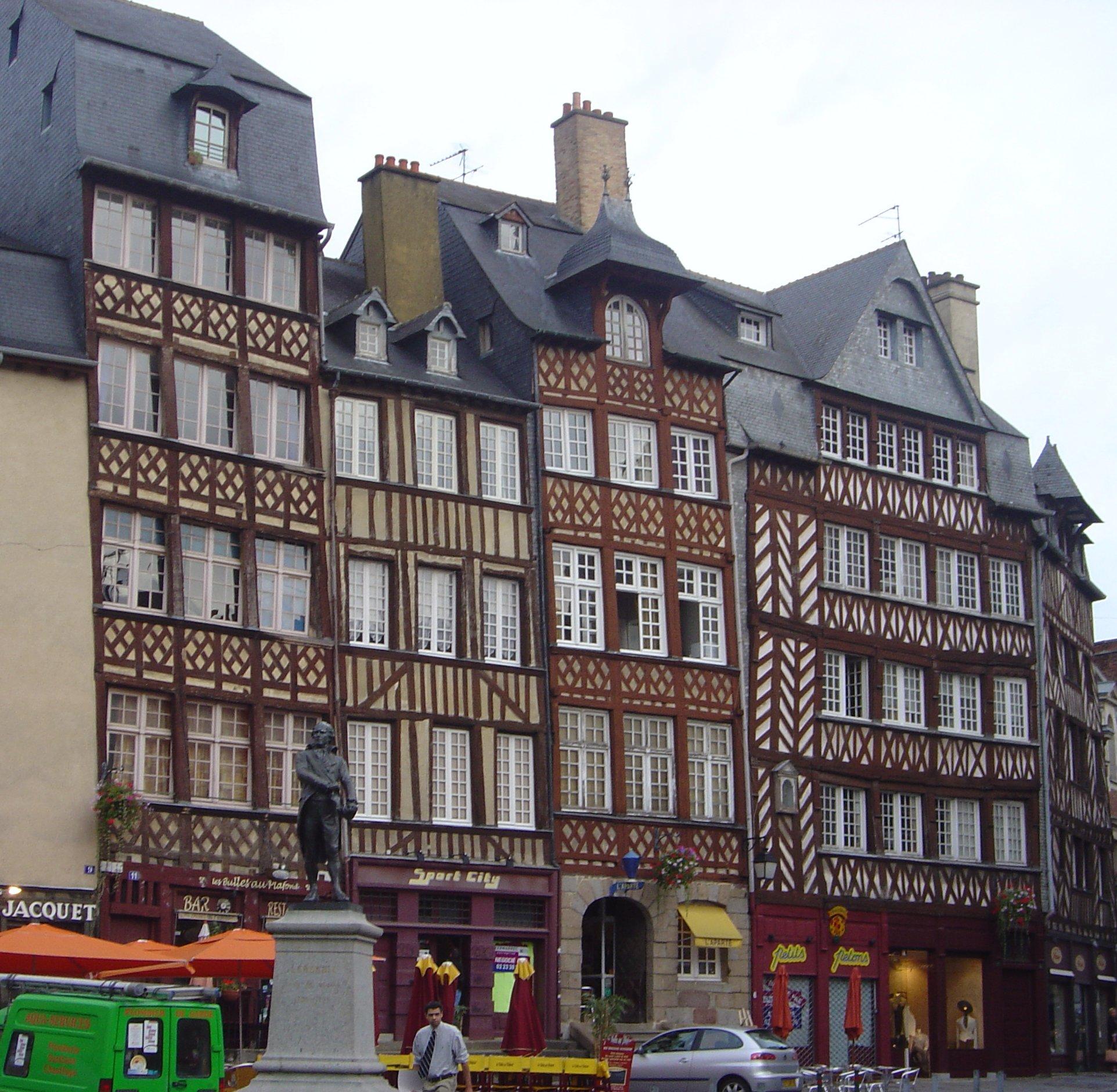 Centre Ville Rennes Deviations