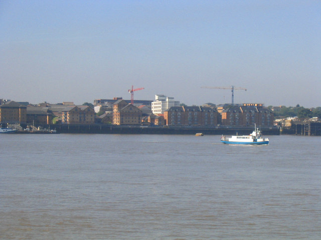 River Thames at Gravesend - geograph.org.uk - 26767