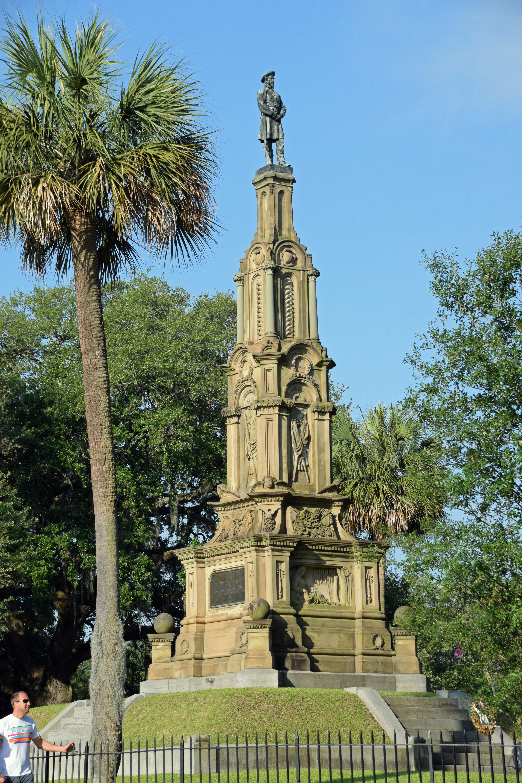 FileSavannah GA USA Forsyth Park Confederate Memorialjpg - Ga usa