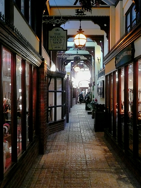 File:Shopping Arcade, Tarrant Street, Arundel - geograph org