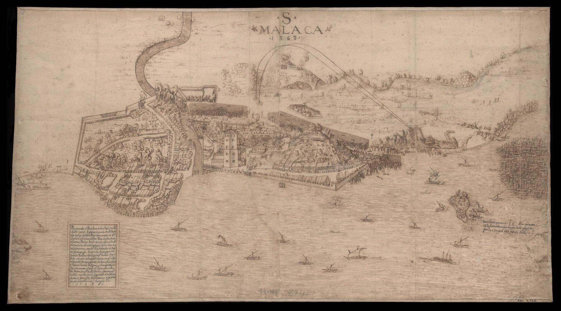 File Siege Of Malacca 1568 Jpg Wikimedia Commons
