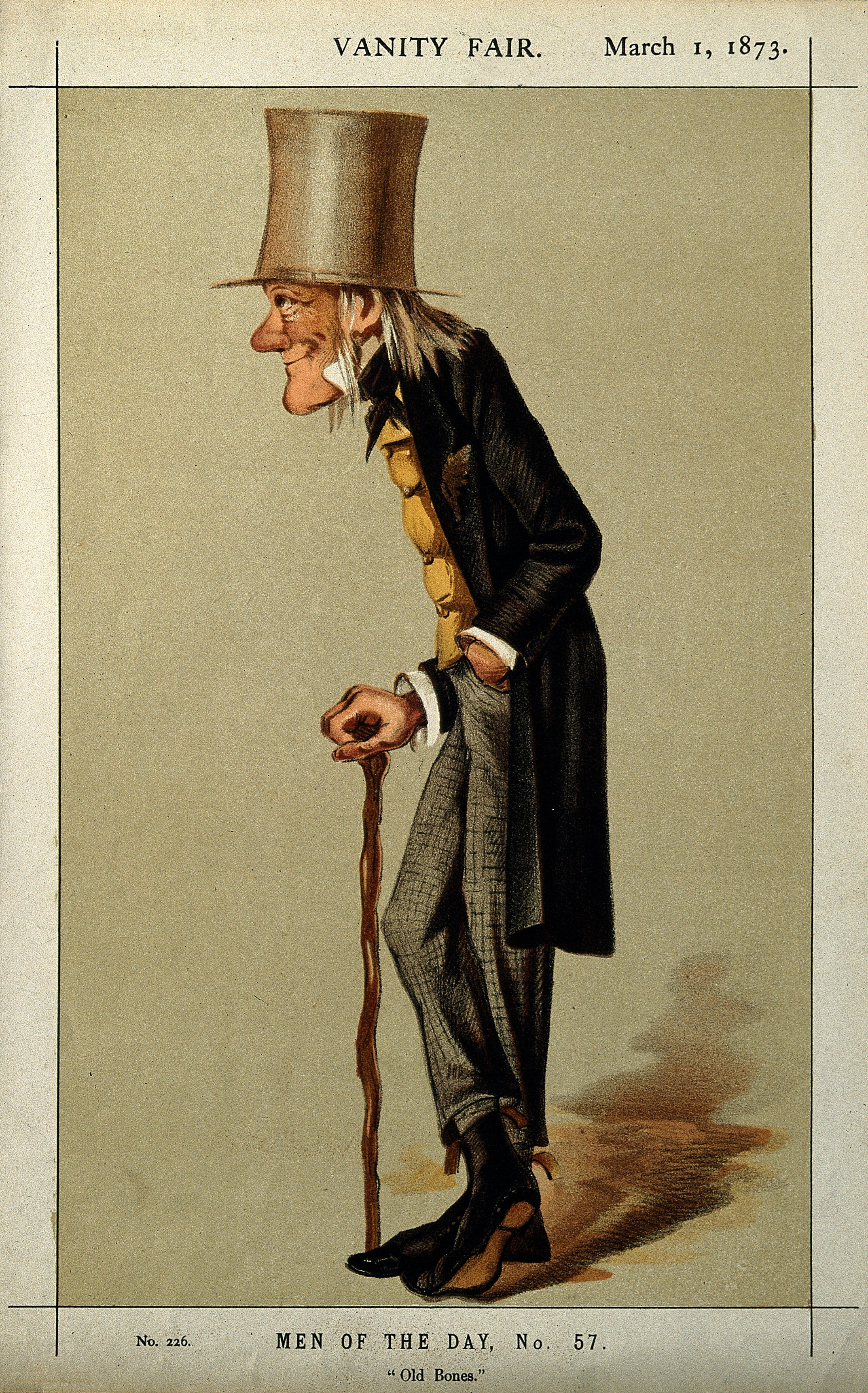 Colour lithograph by Sir L. Ward (Spy)
