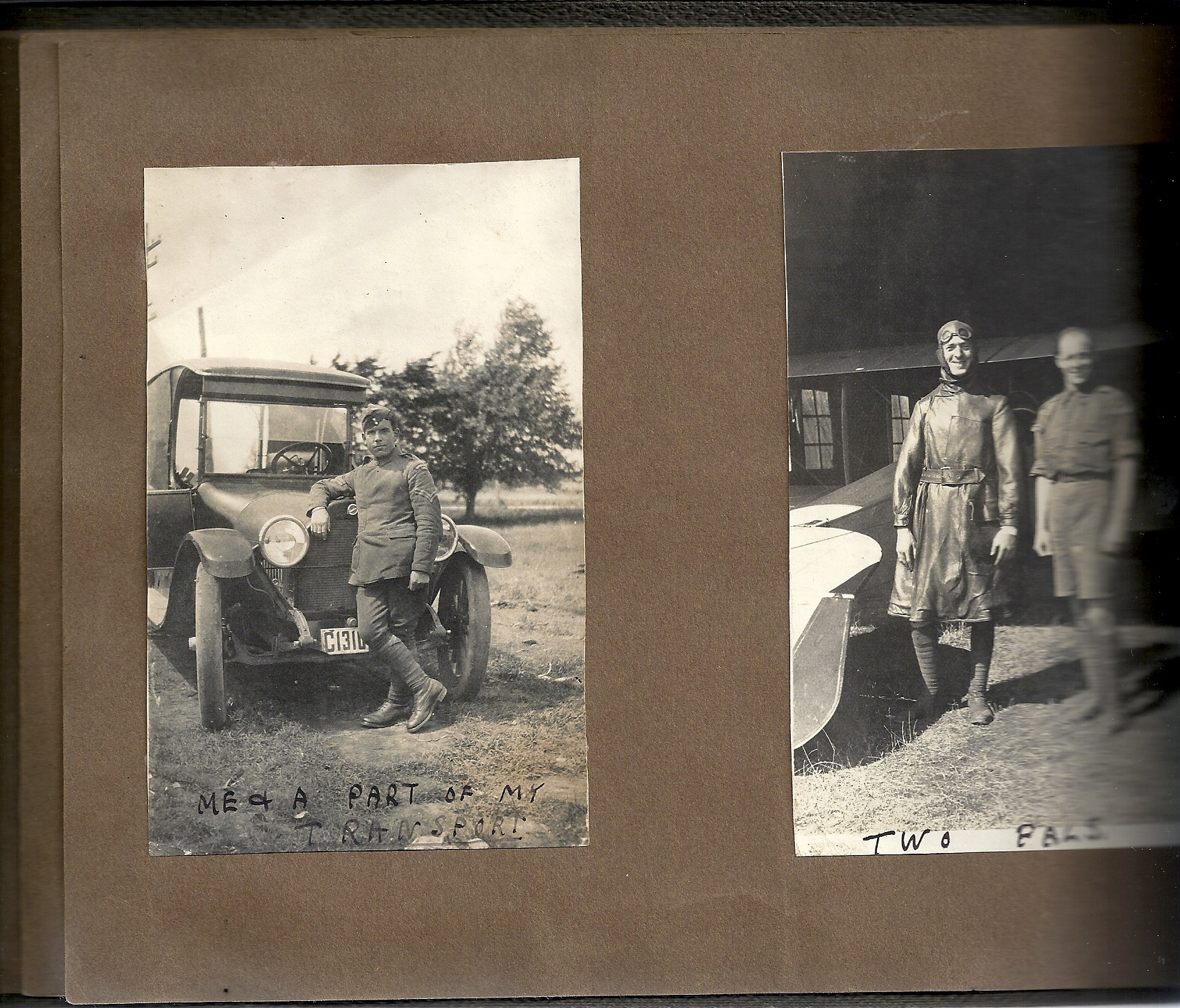 File:Snapshots of men at Camp Mohawk, one of the Royal