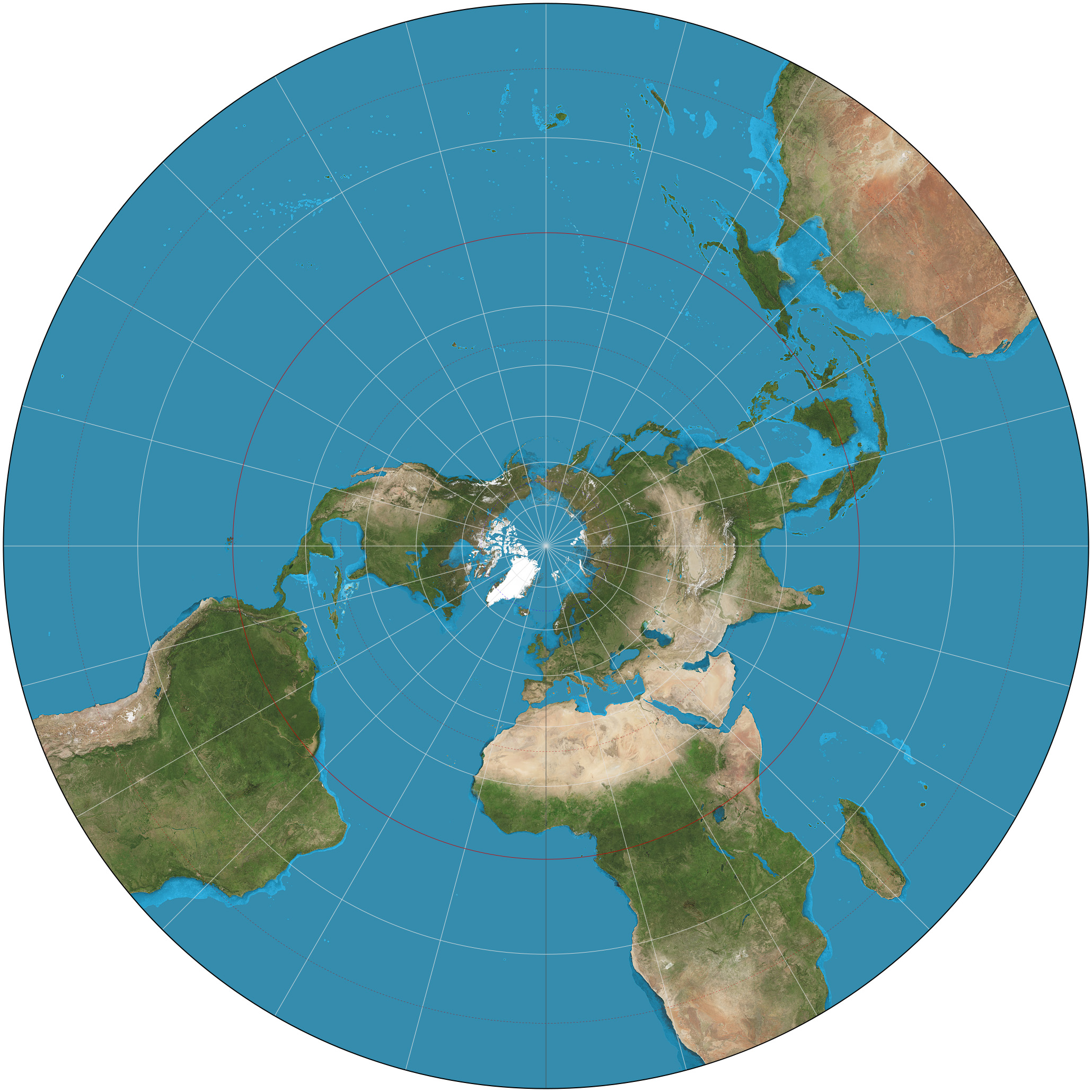 Which Flat Earth Map Is Most Accurate