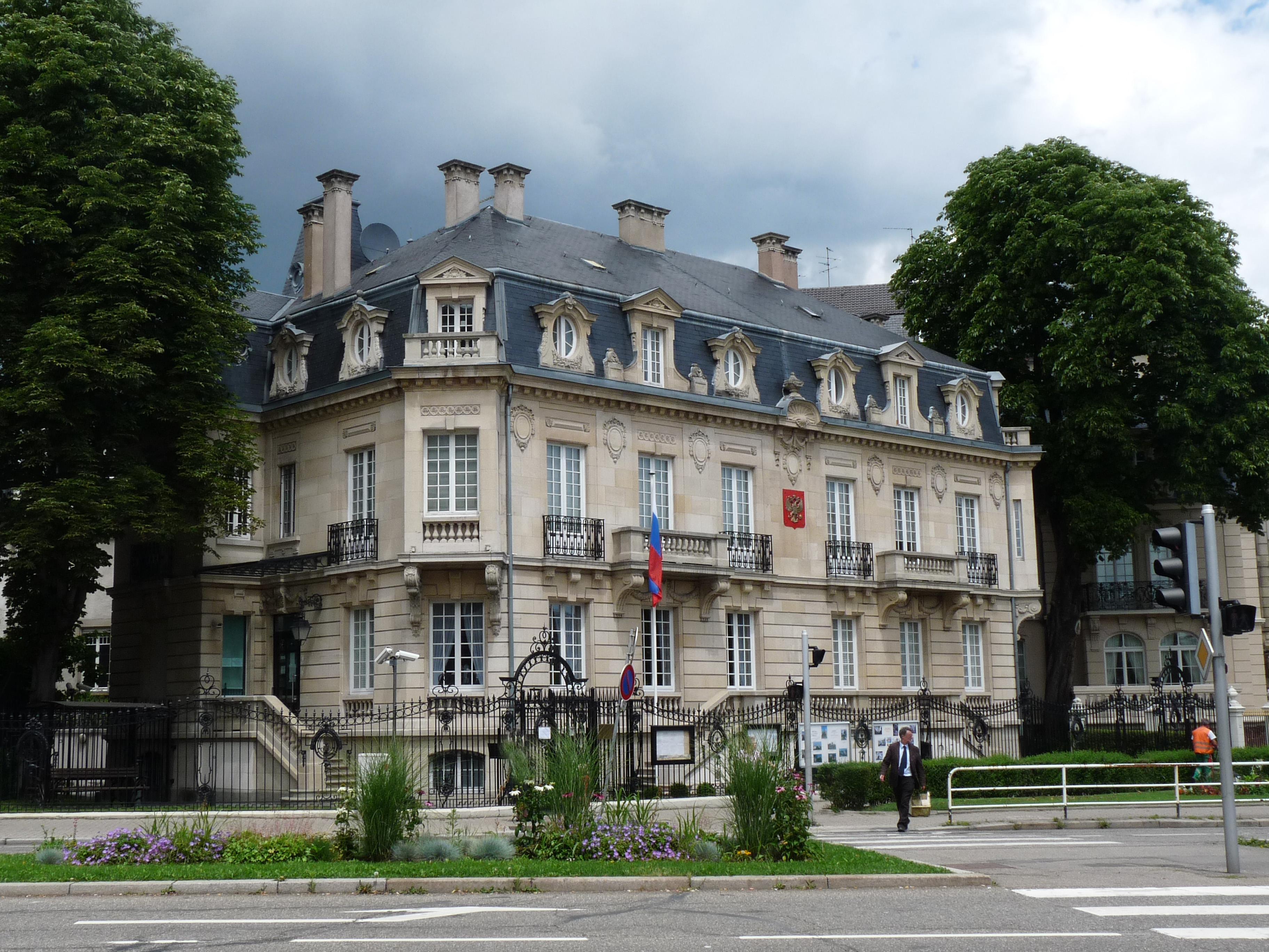 Consulat à consulat russe de strasbourg