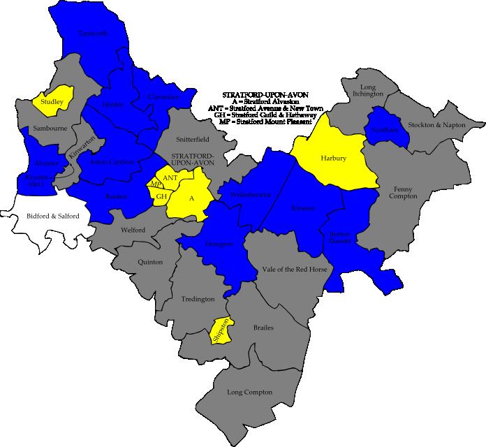 stratford upon avon map pdf