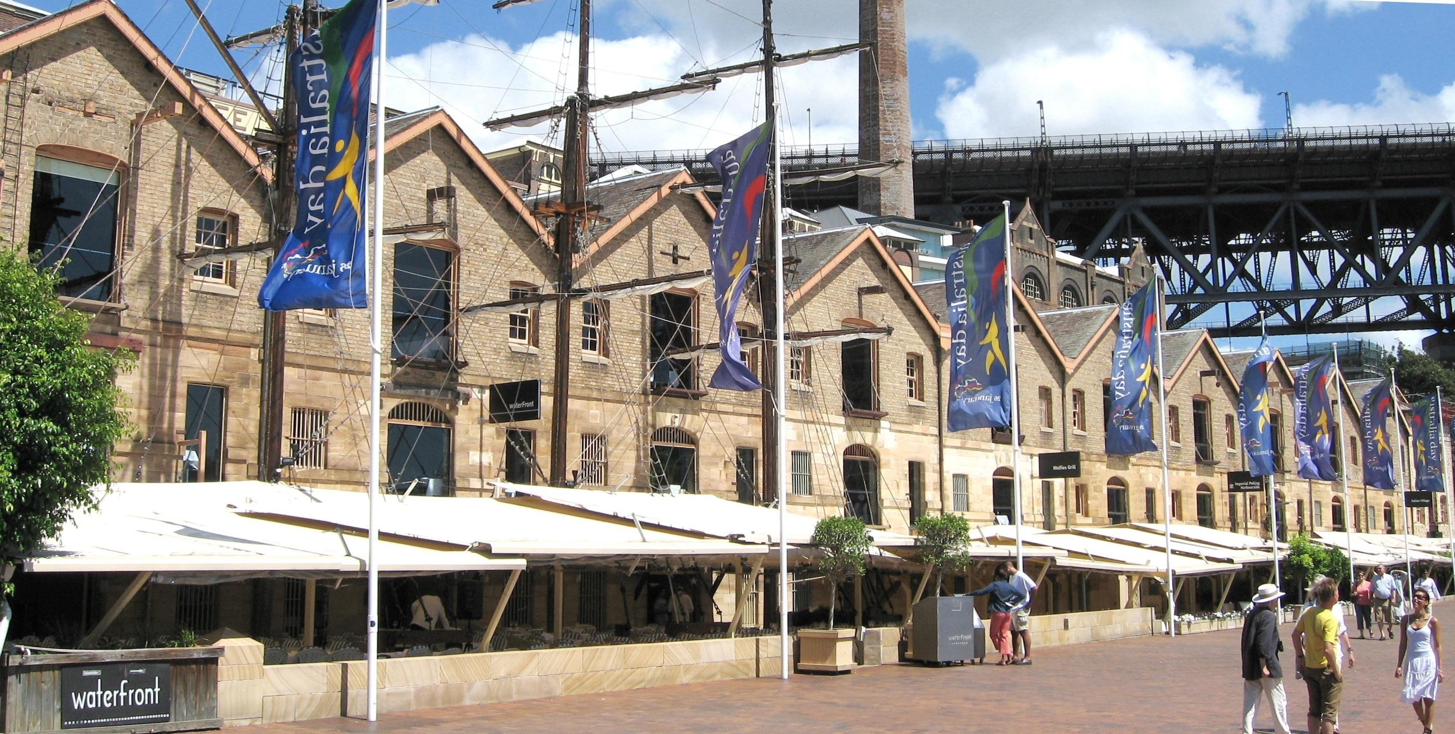 Caminetto Italian Restaurant Rocks Sydney