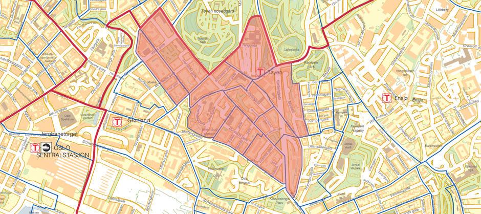 kart over tøyen Fil:Tøyen Områdeløft Kart. – Wikipedia kart over tøyen