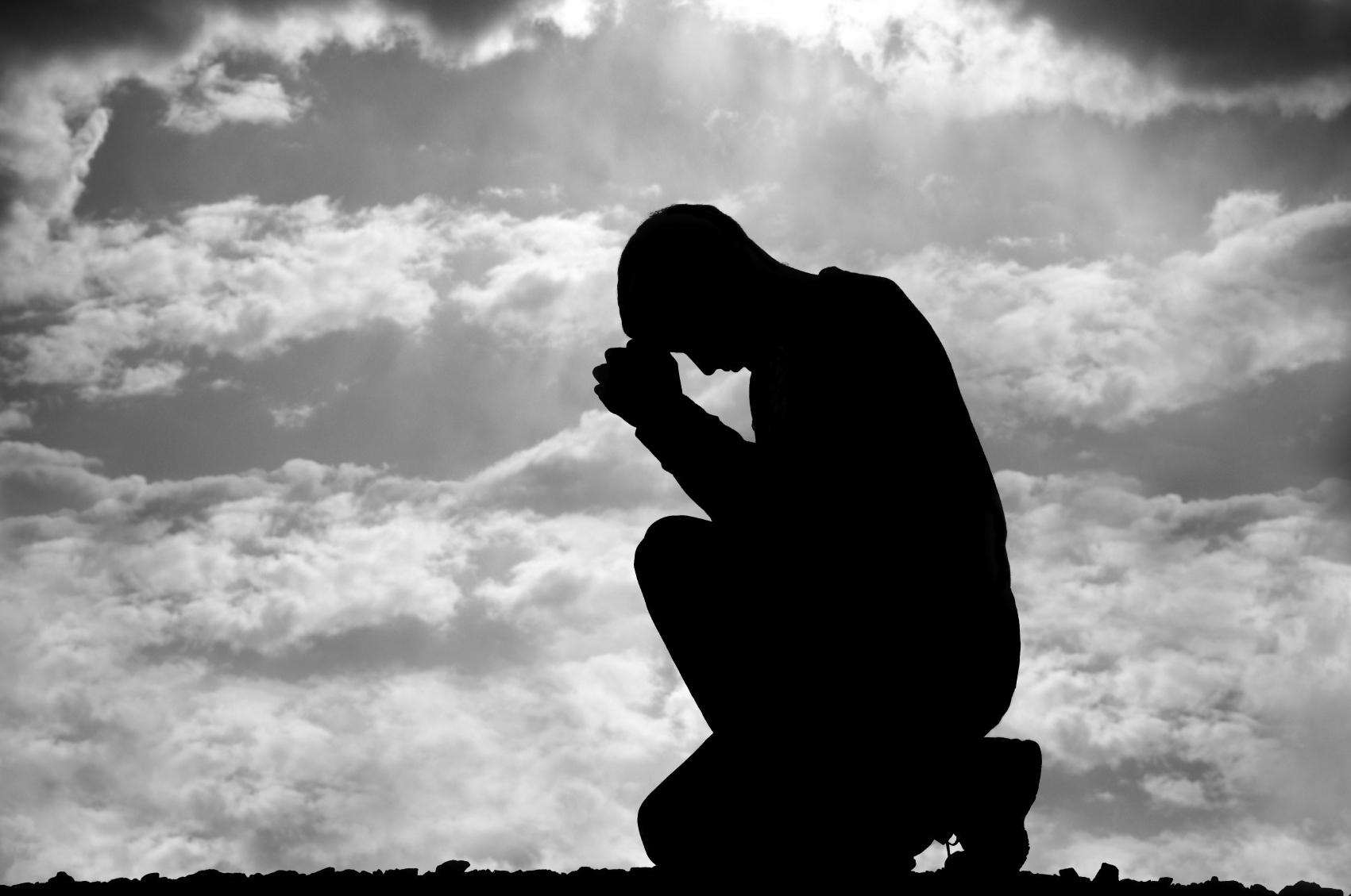 Image result for kneeling before God