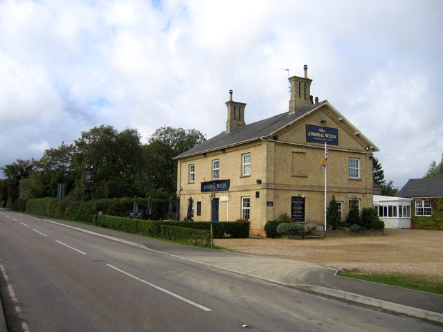 The Admiral Wells public house, Holme, Cambs - geograph.org.uk - 257877