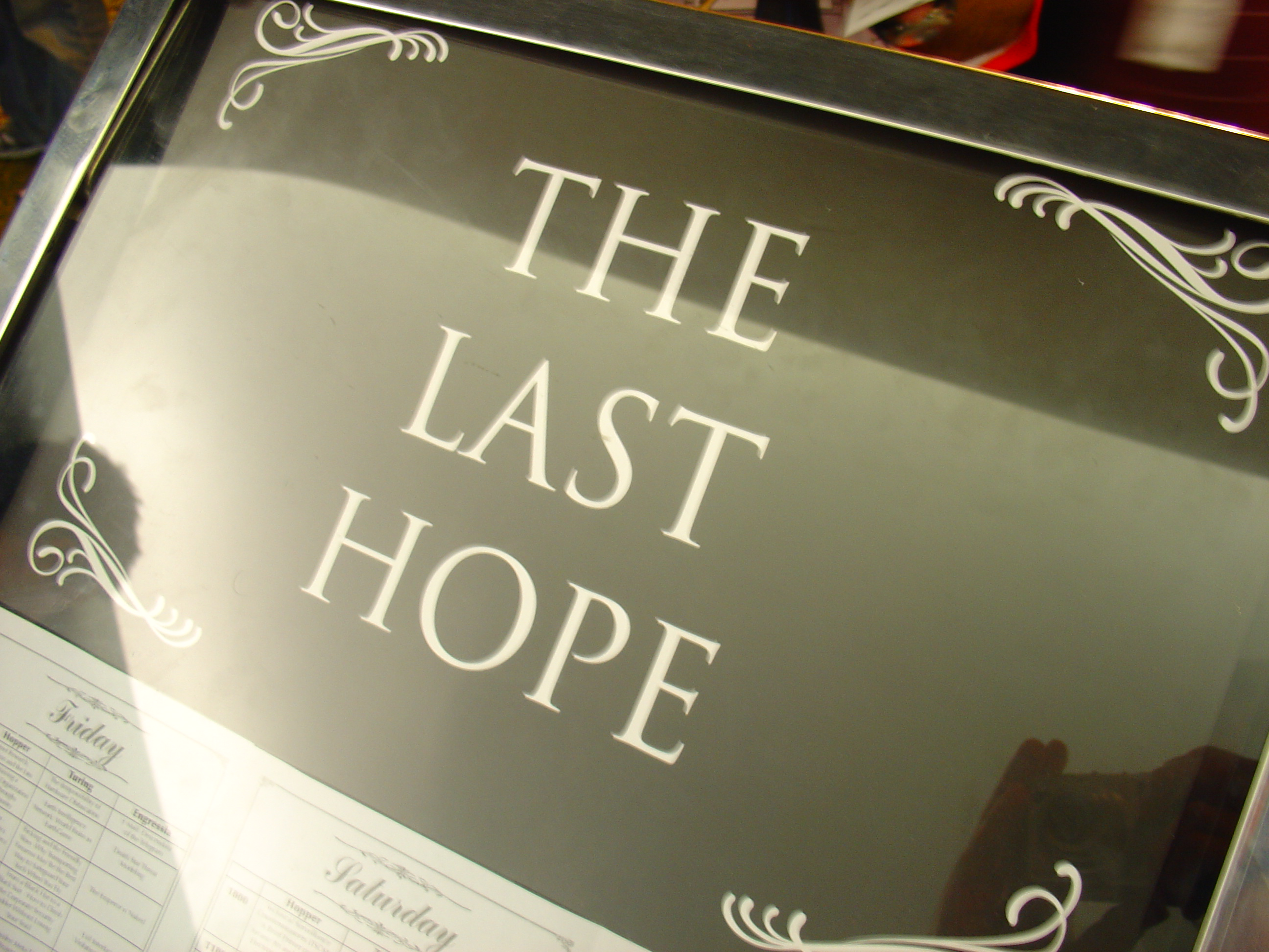 Image result for Last hope
