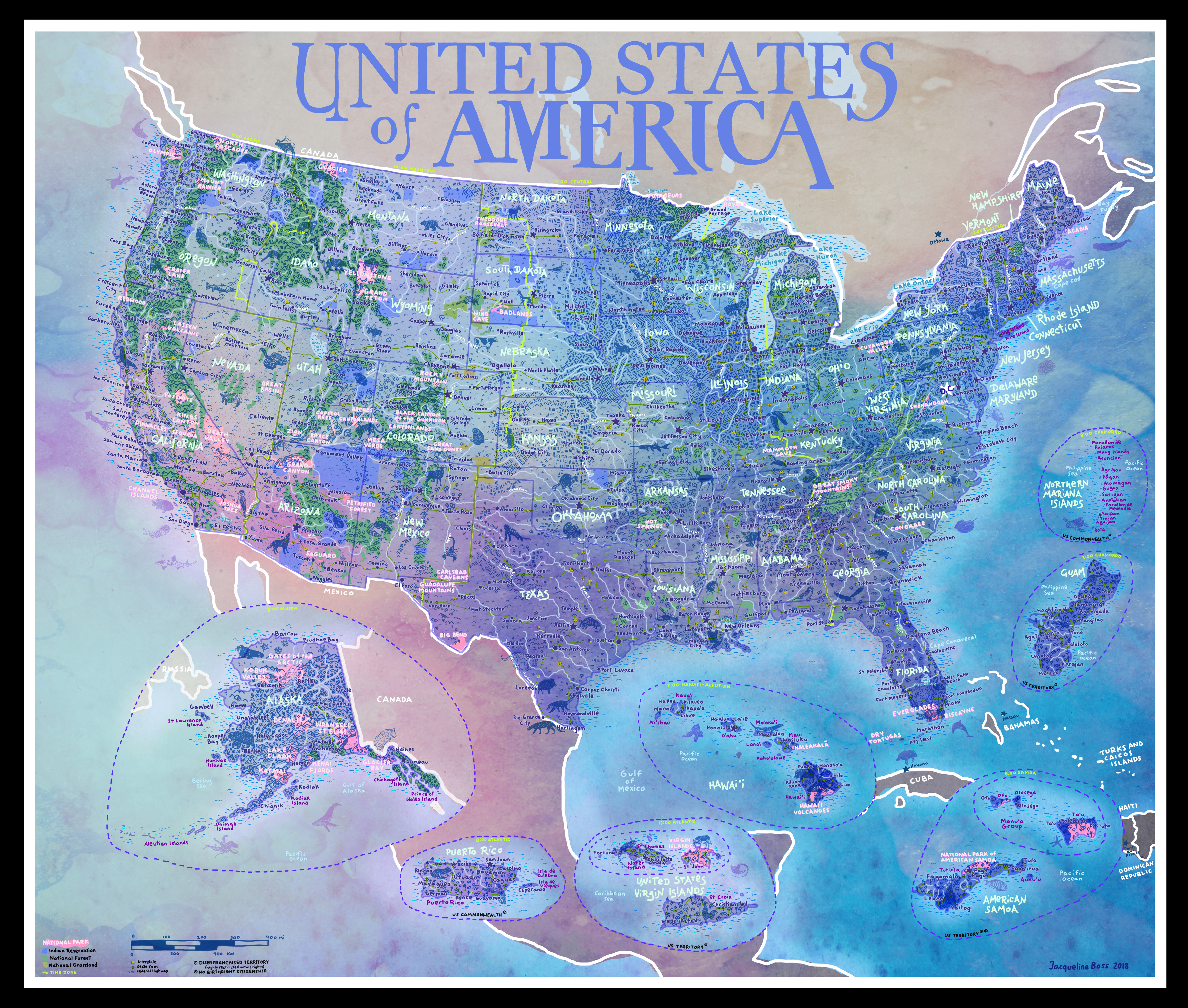 File:USA Territories National Parks Map by Jacqueline Boss ...