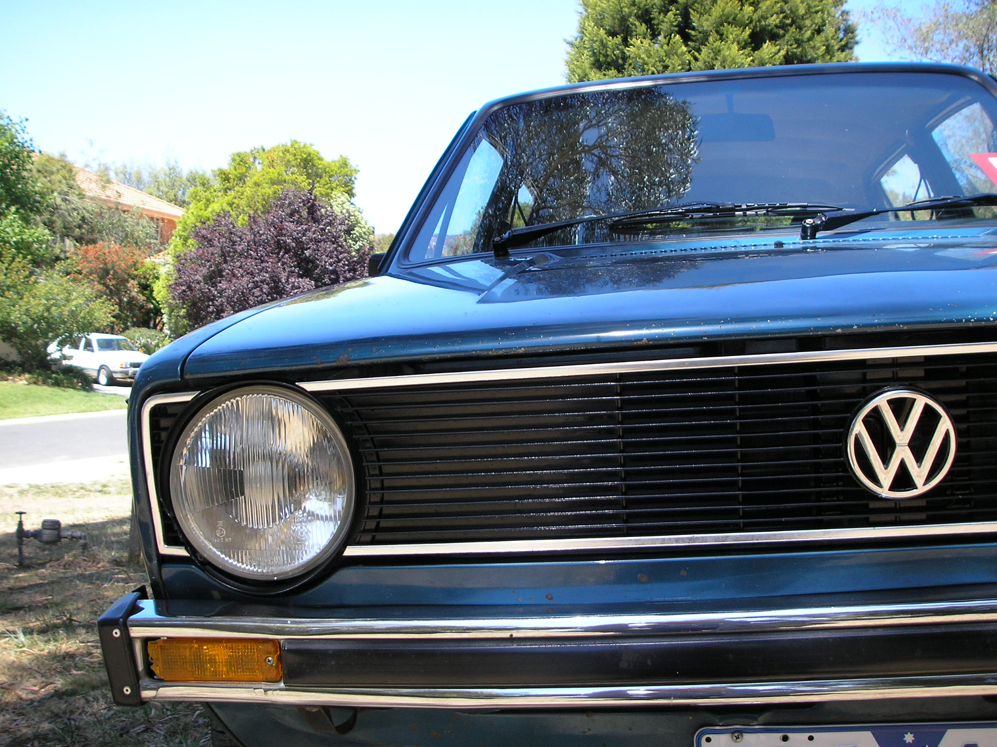 File Vw Golf Mk1 Front Grill Jpeg Wikimedia Commons