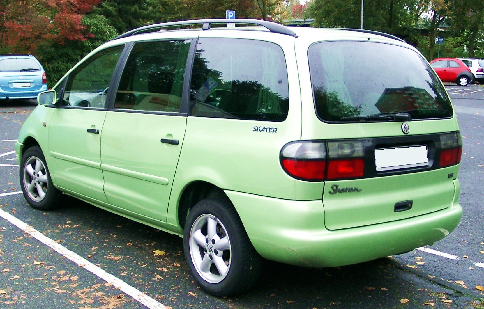 VW Sharan I – Wikipedia