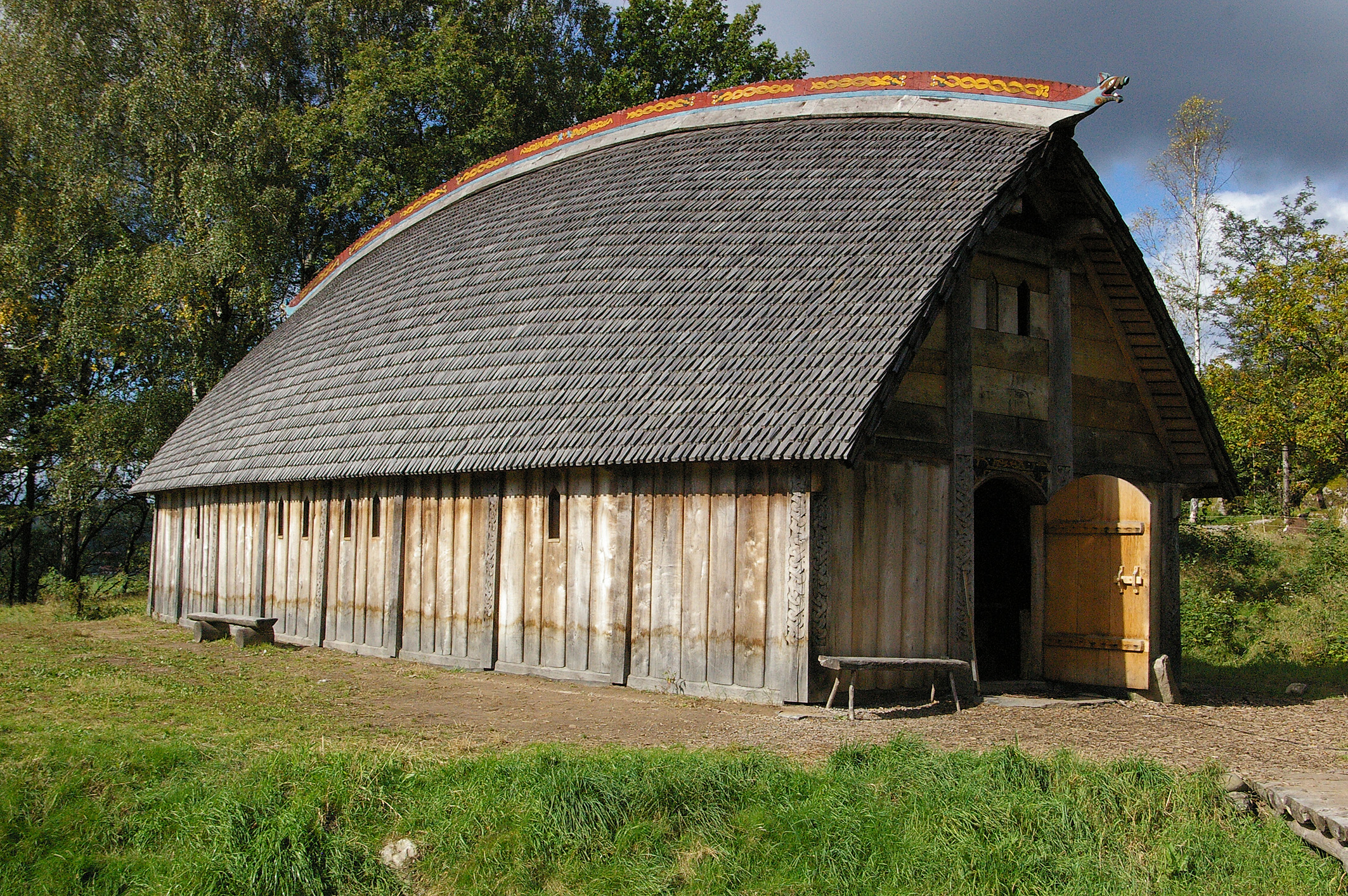 File viking house ale wikimedia commons for What is a shouse house