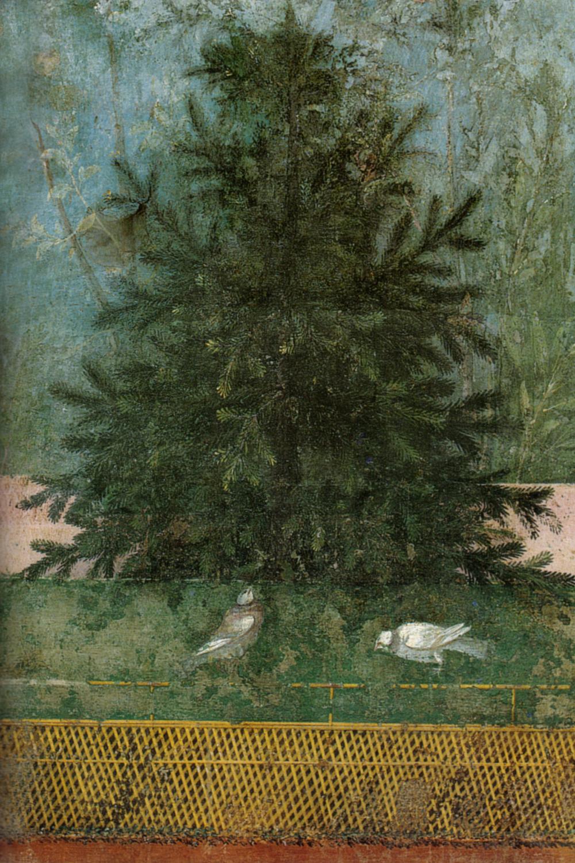 Roman Wall Painting Caliga