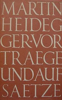 <i>The Question Concerning Technology</i> book by Martin Heidegger