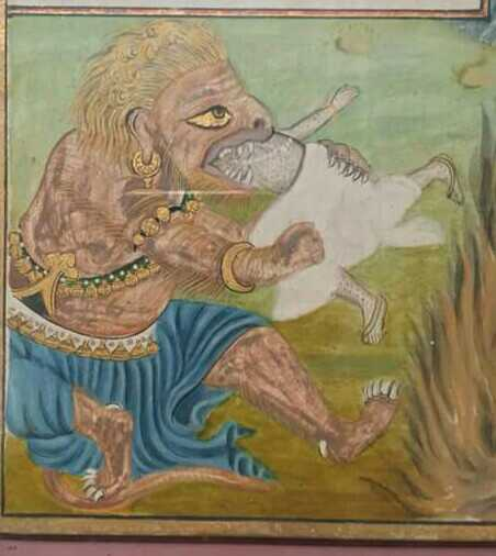https://commons.wikimedia.org/wiki/File:Vritra_try_to_eat_indra.jpg