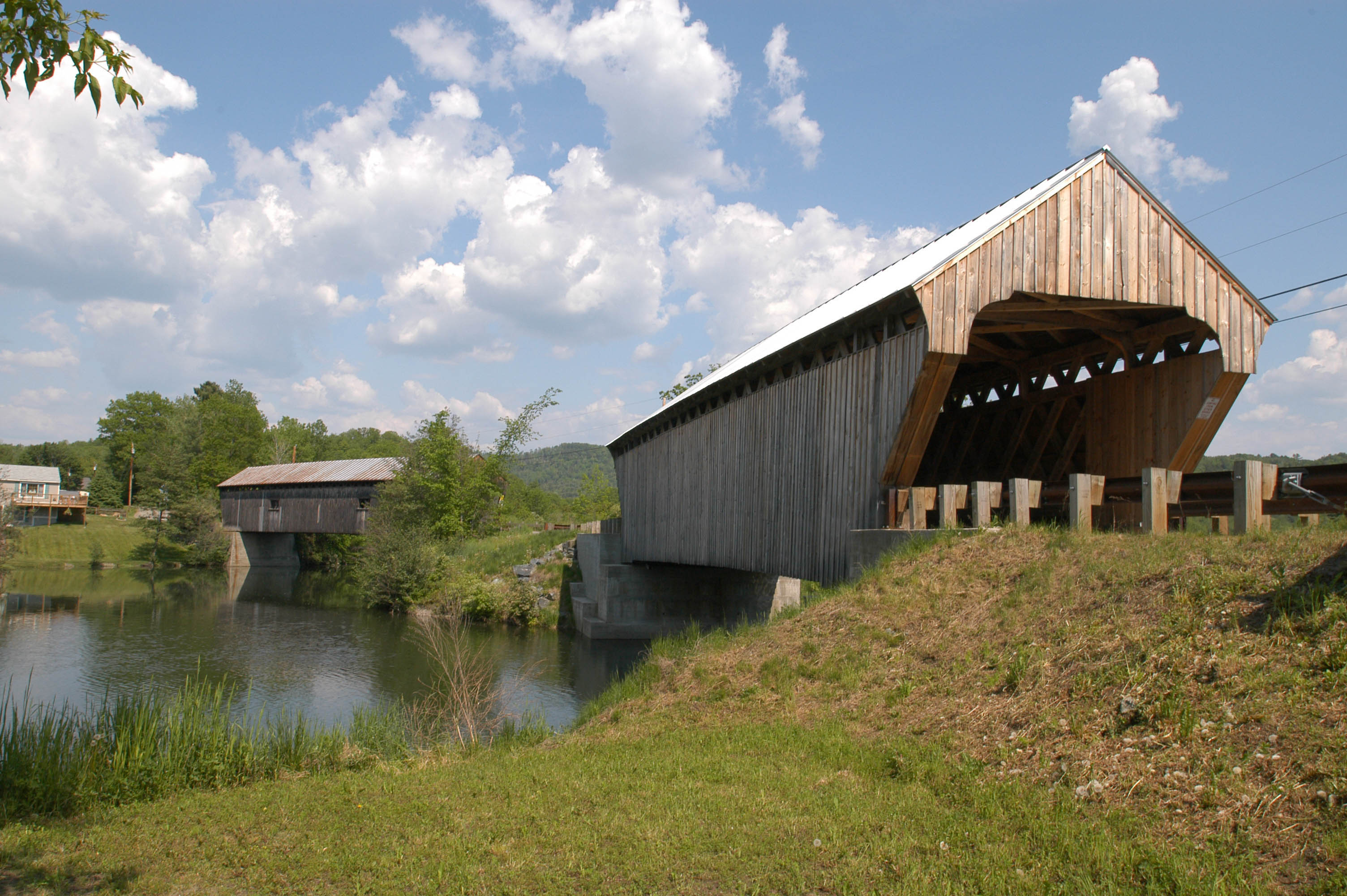 North Hartland VT Covered Bridge