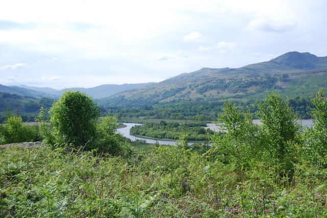 West end of Loch Tay - geograph.org.uk - 848809