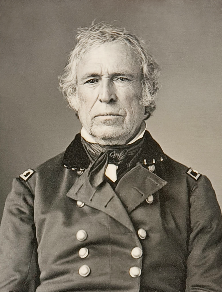 Zachary Taylor Wikipedia - If celebrities were 19th century military generals they would look like this