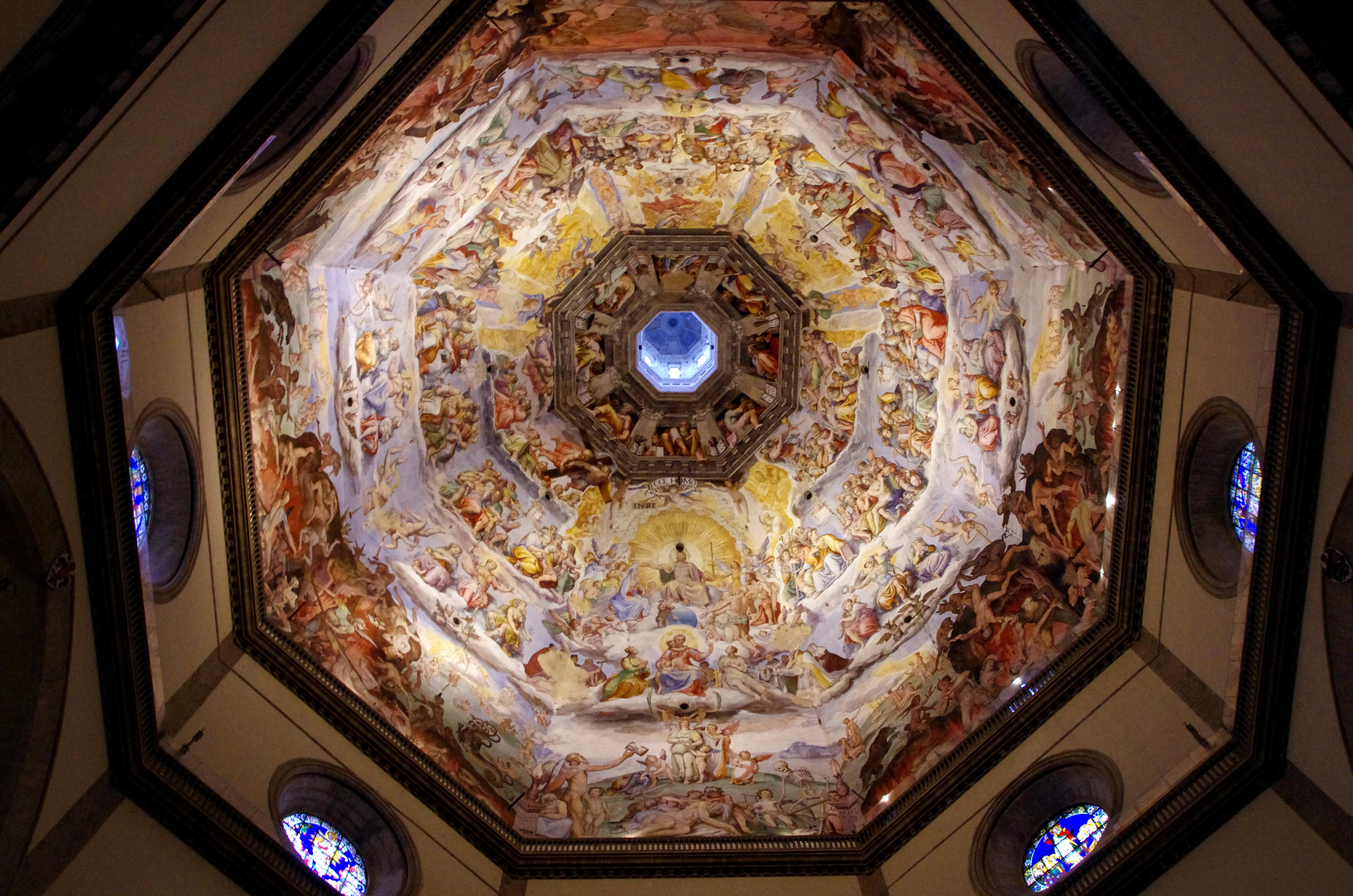 File 03 2015 Giudizio Universale Giorgio Vasari Federico Zuccari Cupola Santa Maria Del Fiore Firenze Photo Paolo Villa Foto9273bis Jpg Wikipedia