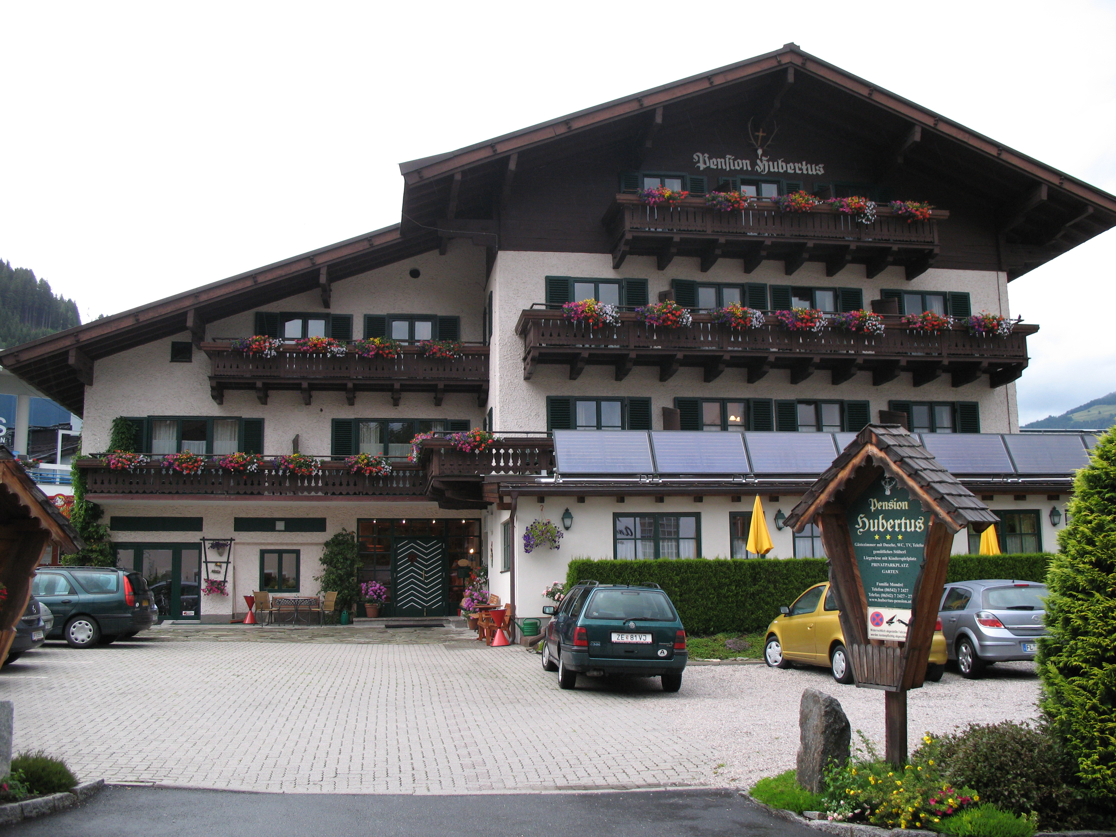 Hotel St Hubertushof In Zell Am See