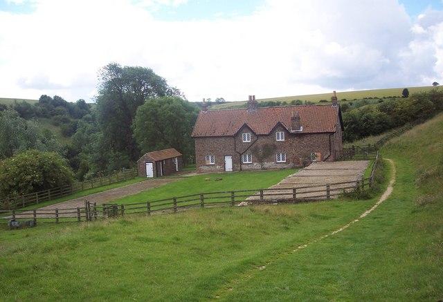 18th Century 'Improvement Farm' - geograph.org.uk - 500768