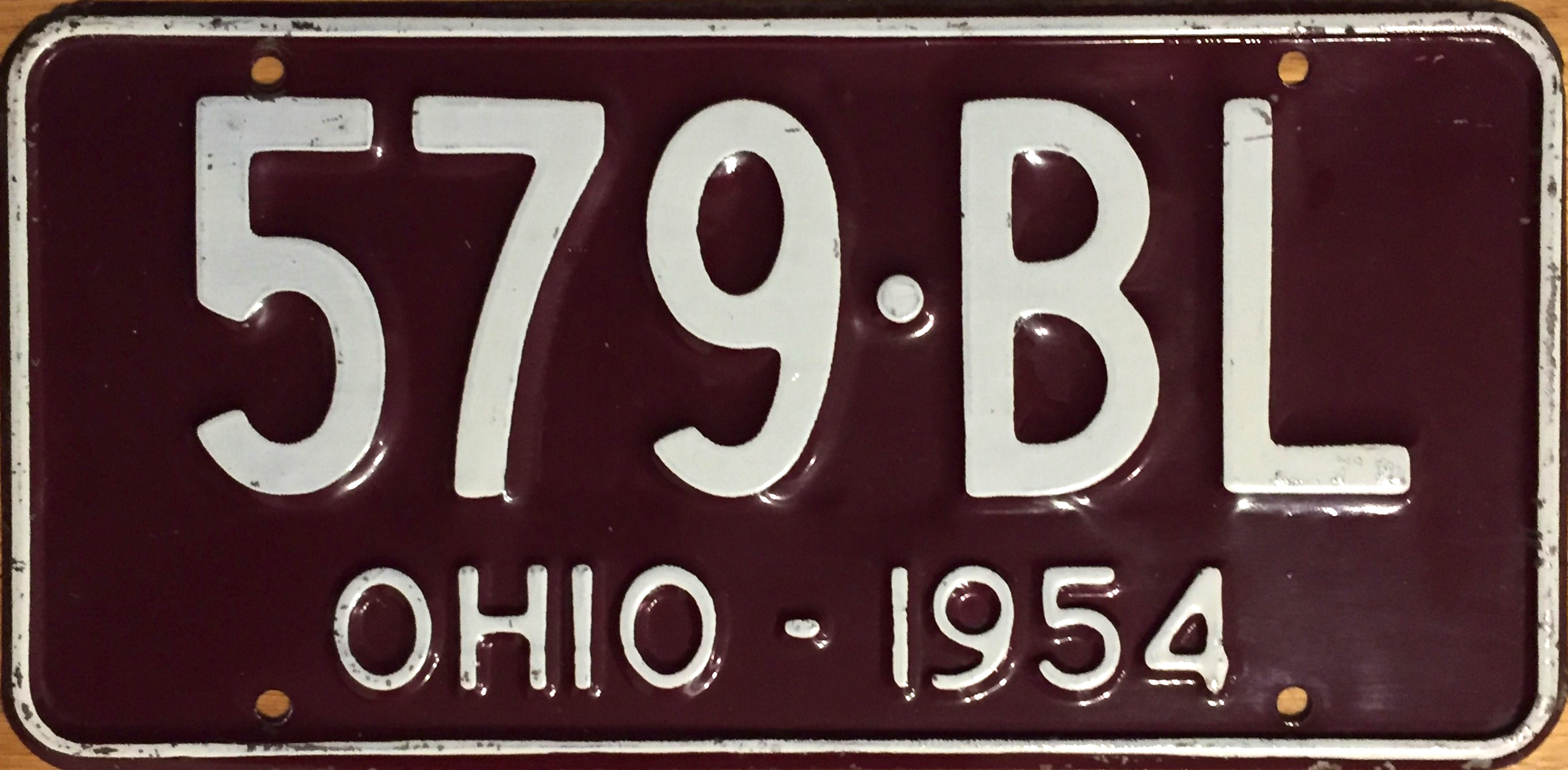 File:1954 Ohio license plate.JPG - Wikimedia Commons