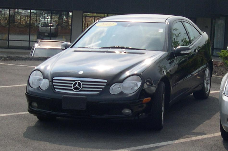 Datei 2002 mercedes benz c class wikipedia for Small mercedes benz