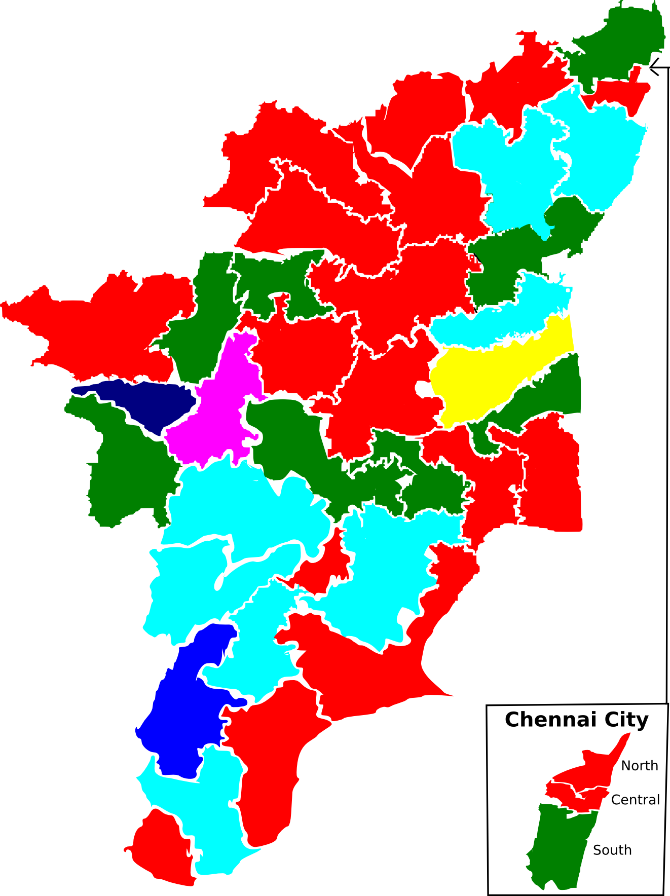 File2009 tamil nadu lok sabha election map by partiesg file2009 tamil nadu lok sabha election map by partiesg gumiabroncs Image collections