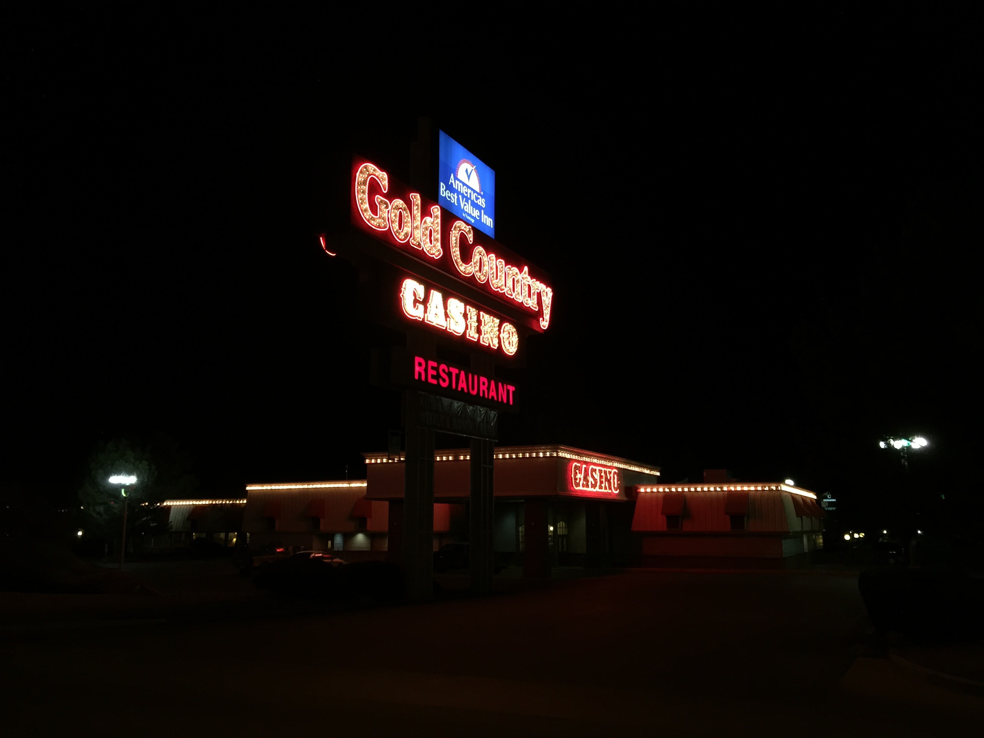 Gold country casino history casino jobs in dublin