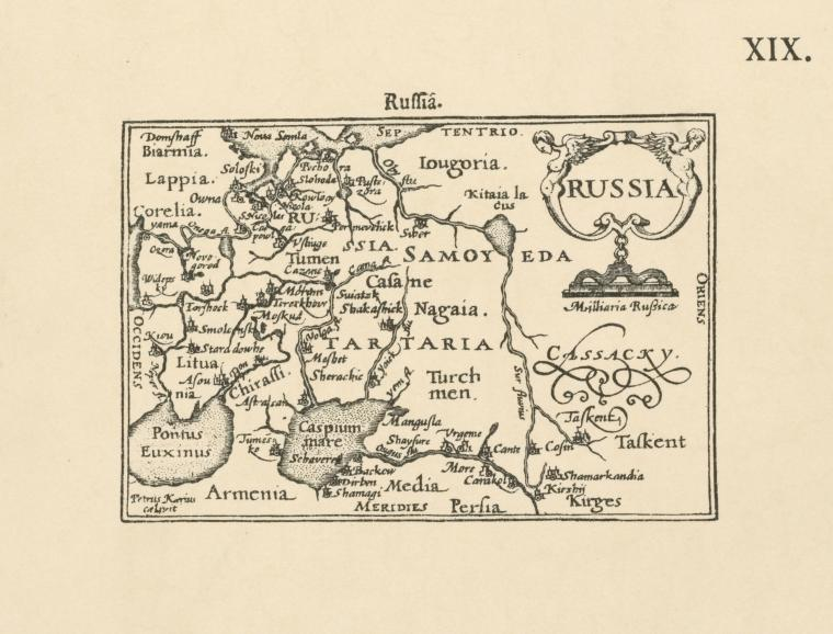 File:A map of Russia by Jenkinson from an atlas, published ...