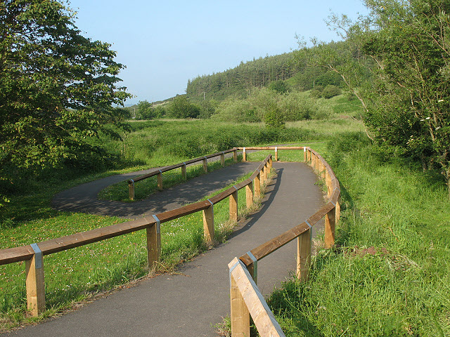 Access ramp to Wooler Common nature trail - geograph.org.uk - 1420429