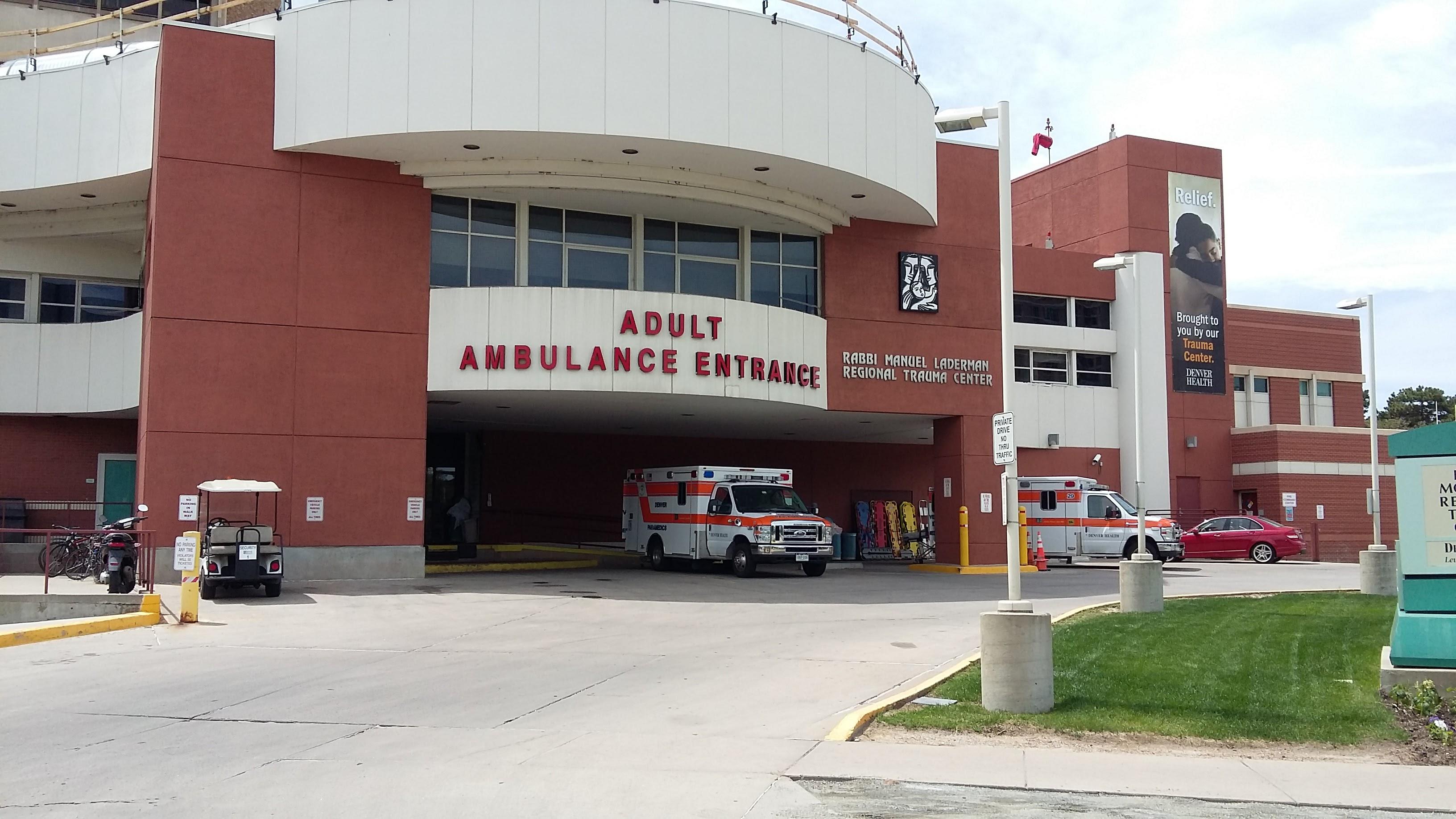 File:Adult Ambulance Entrance, Denver Health Medical ...