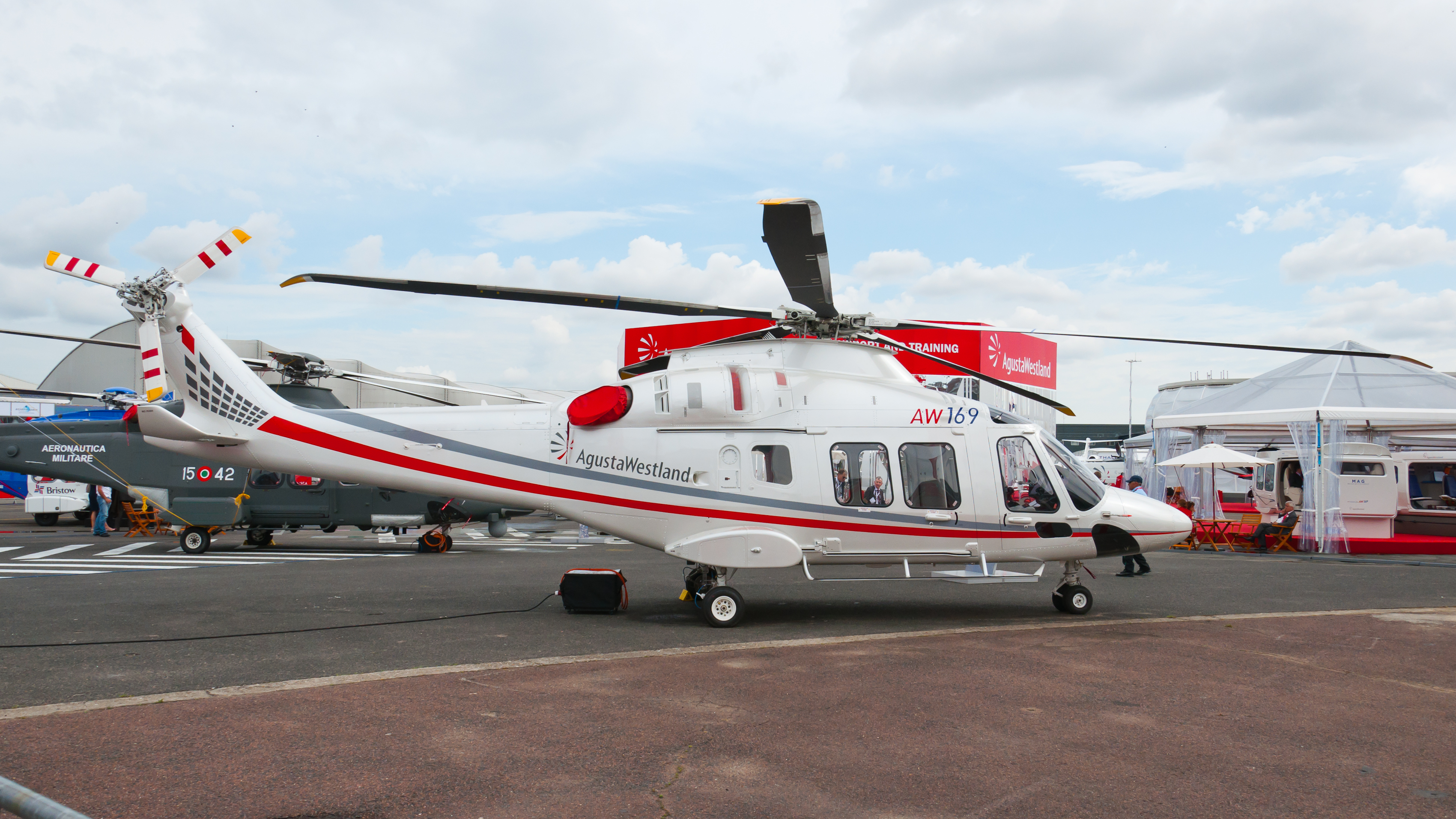 The AgustaWestland AW169 Is A Twin Engine 10 Seat Helicopter