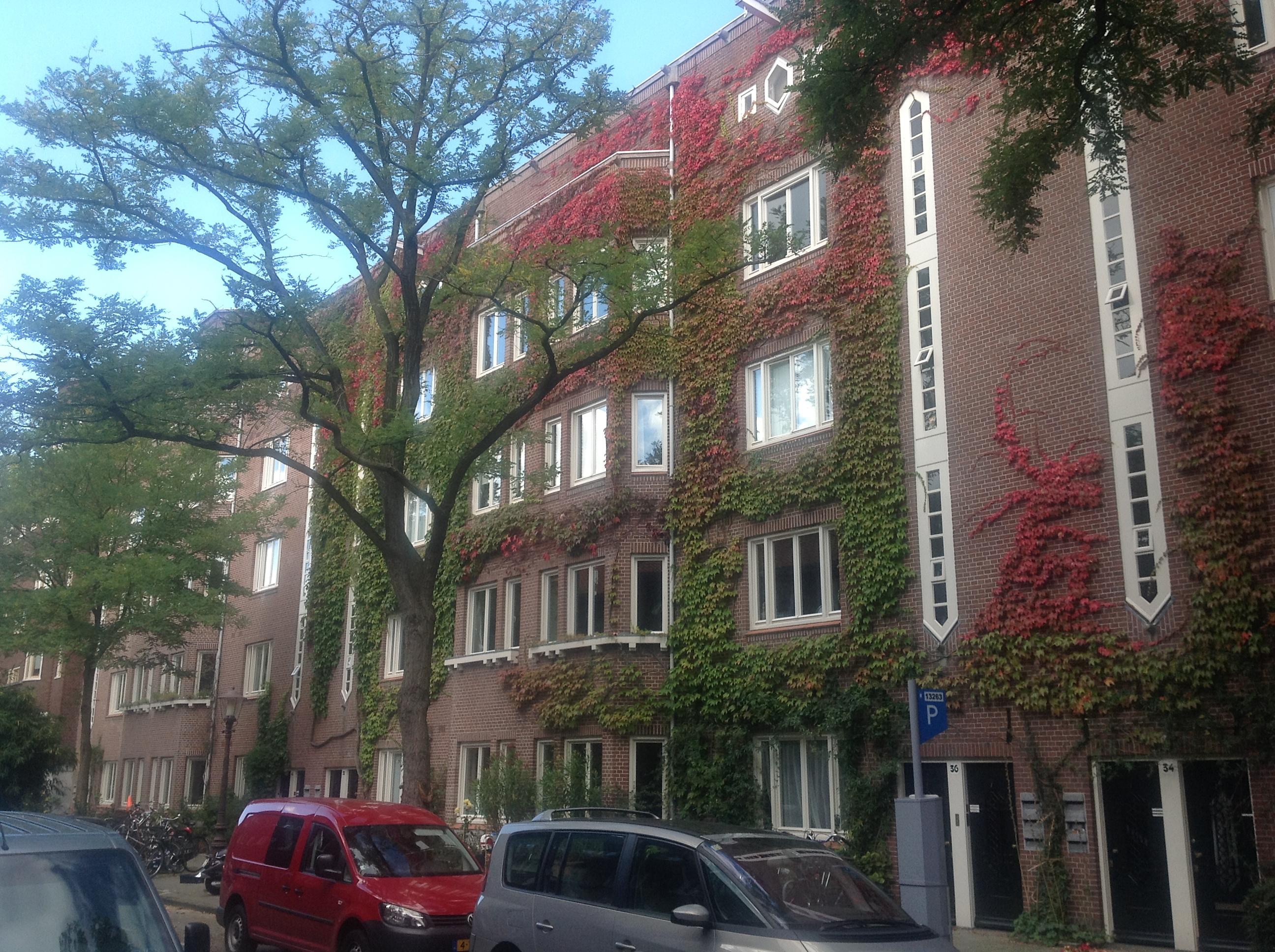 Harmoniehof: bouwblok, bestaande uit 122 woningen en 12 winkels in ...
