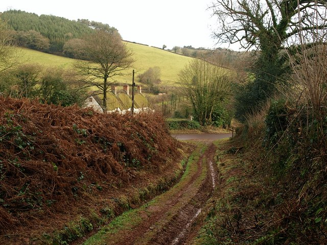 Approaching Raswell House - geograph.org.uk - 1129484
