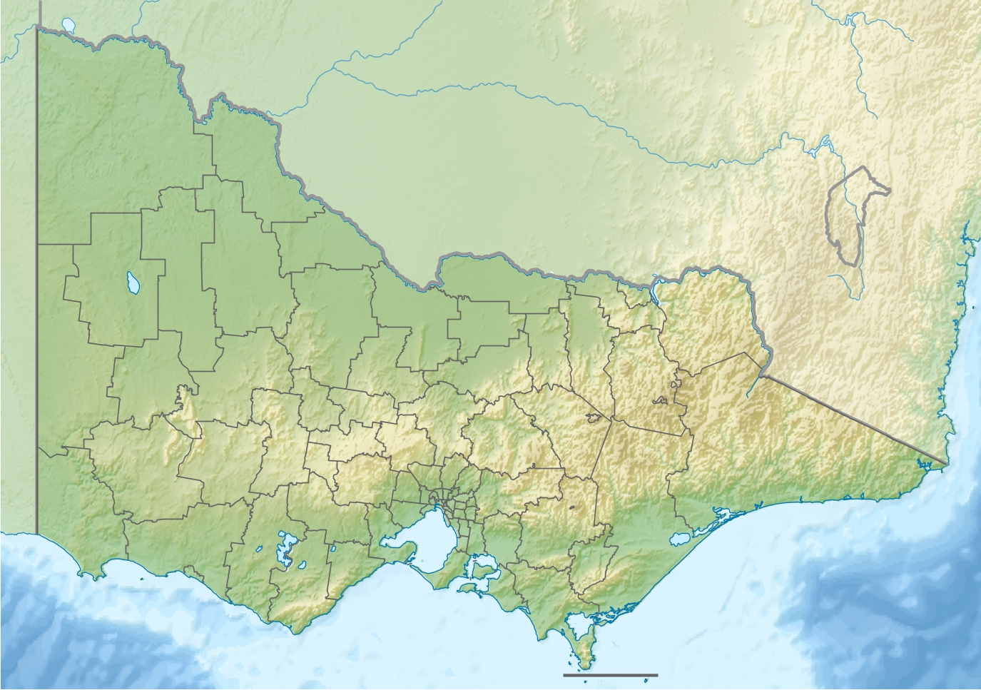 TemplateLocation map Victoria Simple English Wikipedia the – Map Victoria Australia
