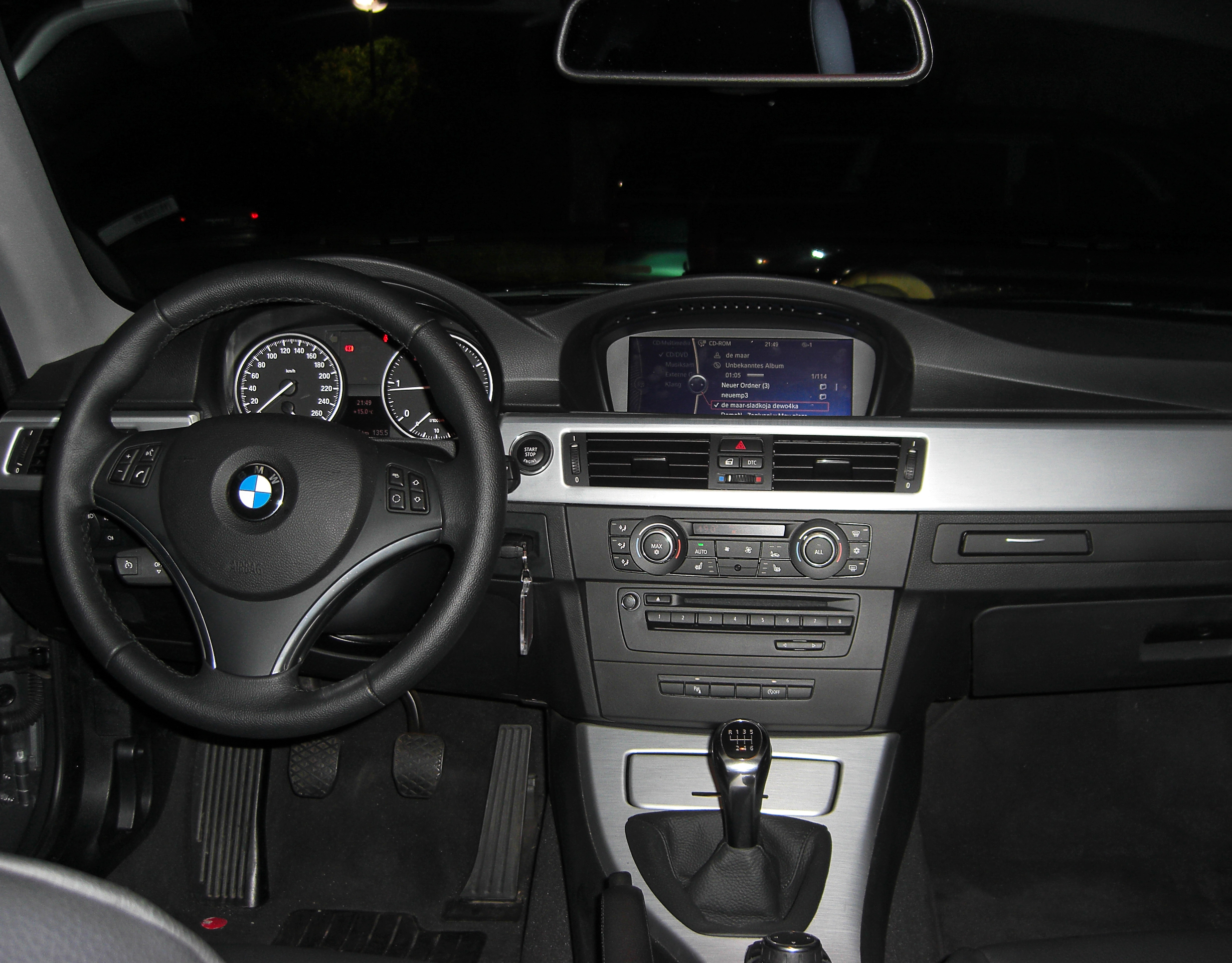 file bmw 320d coup e92 interieur. Black Bedroom Furniture Sets. Home Design Ideas