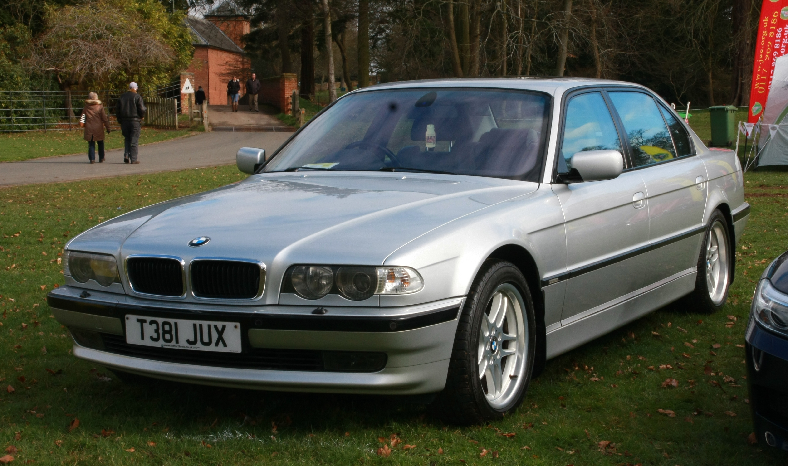 File Bmw 740i 4398cc Registered March 1999 Jpg Wikimedia Commons