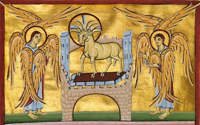 Das Lamm und das Buch mit den sieben Siegeln