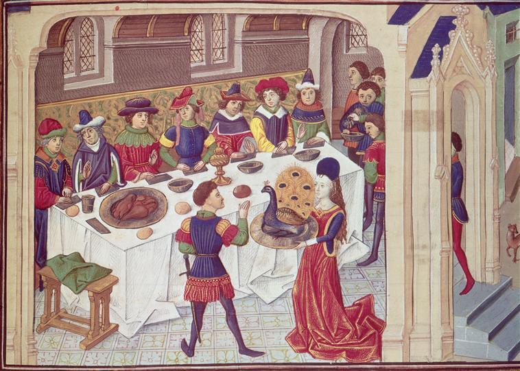 Banquet du paon