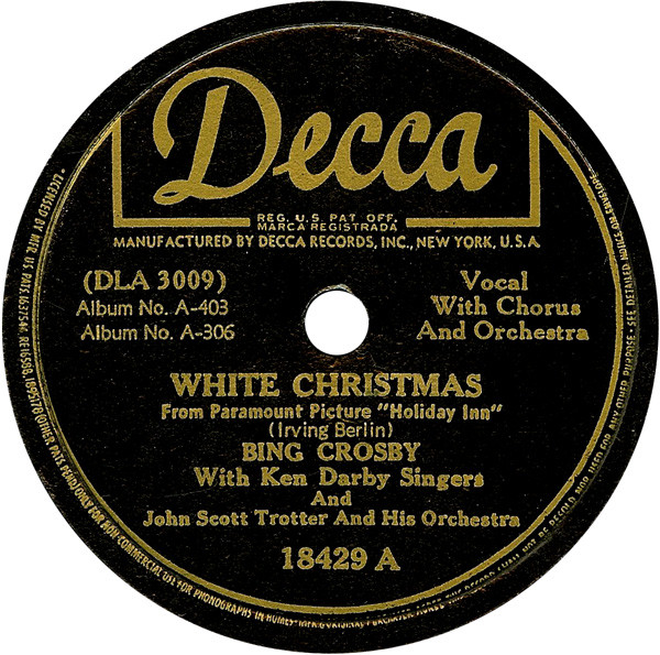 list of best selling singles wikipedia - White Christmas Song List