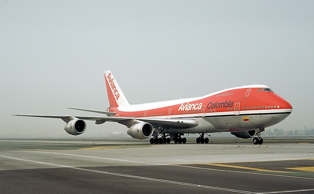 File Boeing 747 283bm Avianca An0080558 Jpg Wikimedia Commons