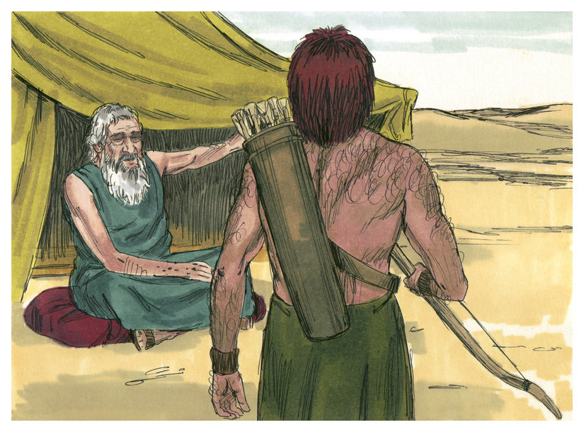 File Book Of Genesis Chapter 27 2 Bible Illustrations By
